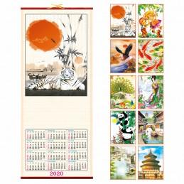 Calendario in canna Mod. PA370