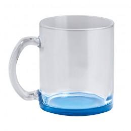 Tazza in vetro con fondo...