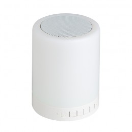 Speaker lampada 6 colori 3w...