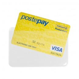 Bustina portacards PVC 1 CARDS